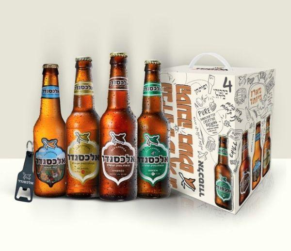 חוגגים יום עצמאות עם בירה אלכסנדר בירה ישראלית!