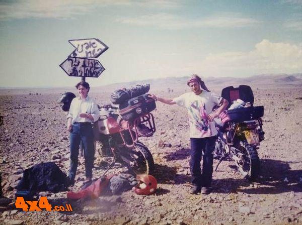 ניר שפיצר במרוקו – מסע אופנועים אקסטרים