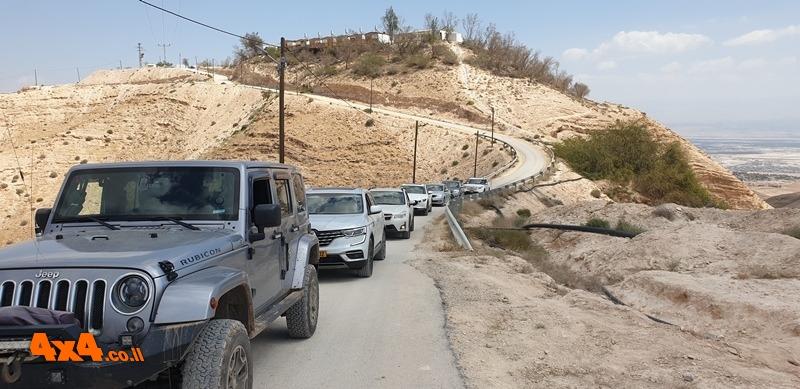 שטח 4X4 - מסלולי טיול - בקעה ומדבר יהודה