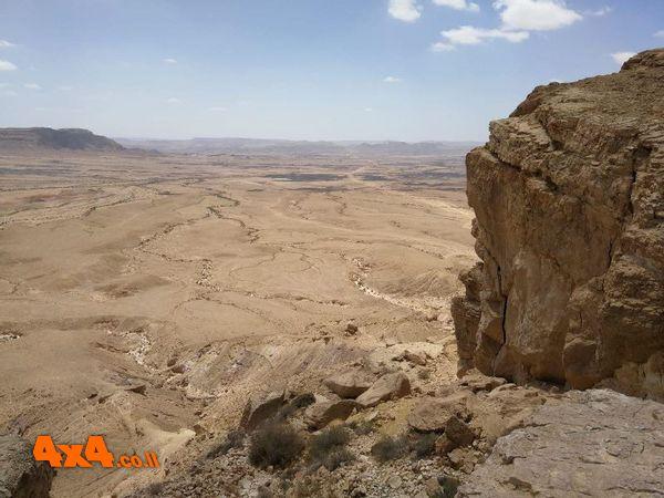 מכתש רמון מגב המצוק המערבי