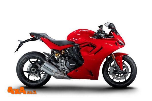 דוקאטי משיקה אופנוע חדש בישראל: סופר-ספורט 950