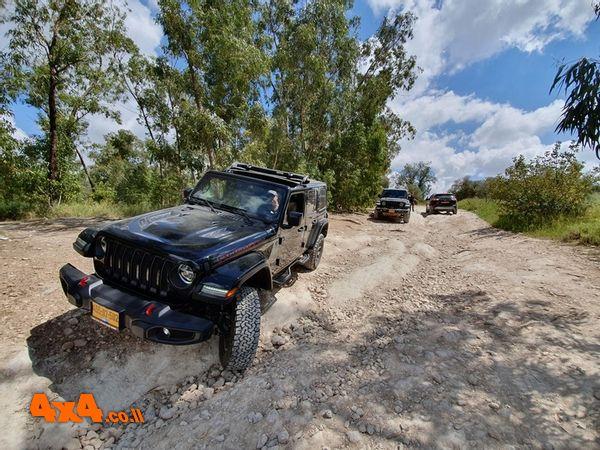 סיכום הדרכת נהיגת שטח של מועדון Jeep ביער בן שמן - 9/4/2021