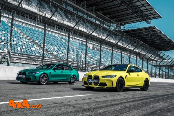 דגמי M3 ו-M4 החדשים של BMW נוחתים בישראל