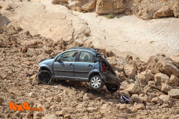 רננה במדבר - מיזם להצלת חיים וניקוי המדבר מגרוטאות רכב