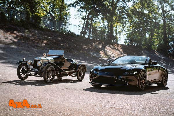 אסטון מרטין חוגגת מאה שנה למכונית העתיקה ביותר שלה ששרדה