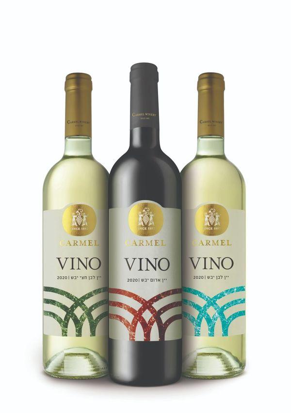 חדש מיקבי כרמל VINO יין לבן יבש 2020