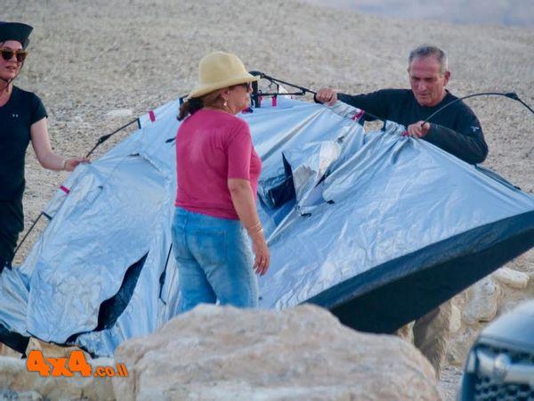 להקים אוהל ברוח עזה - לא עניין של מה בכך