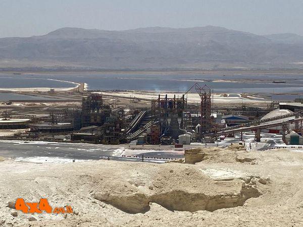 במצפה מפעלי ים המלח