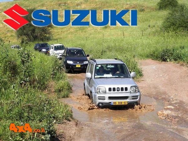 טיול מועדון סוזוקי בשבת הקרובה, הדרכות נהיגה וטיול מיוחד באוגוסט