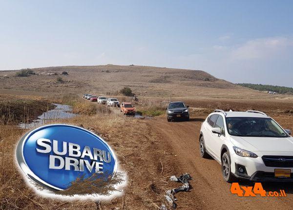טיולי סובארו דרייב הקרובים, הדרכת נהיגה בחולות, טיול מיוחד לירדן ועוד