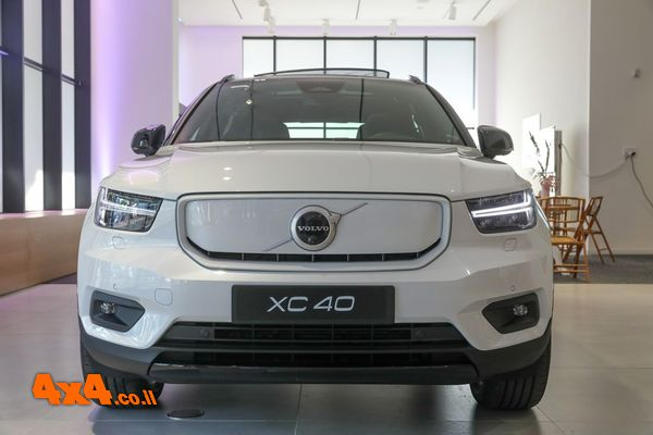 חדש בישראל: וולוו XC40 Recharge Pure Electric
