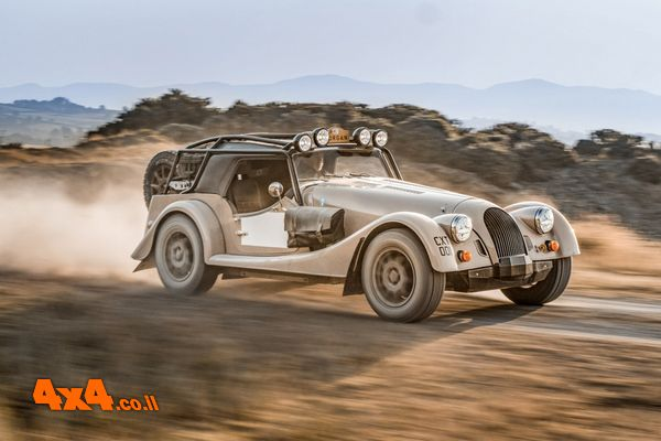 רכב מהחלומות: Morgan Plus Four CX-T