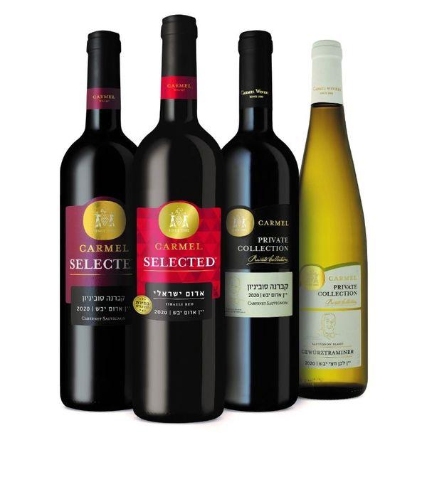 יקבי כרמל יינות חדשים לראש השנה