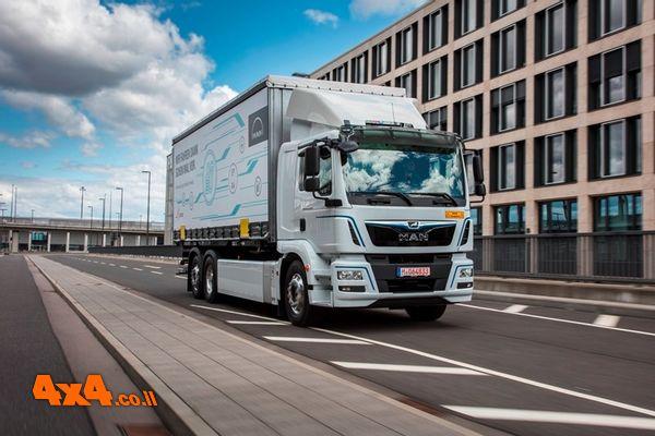 משאיות e-Trucks חשמליות של מאן בישראל