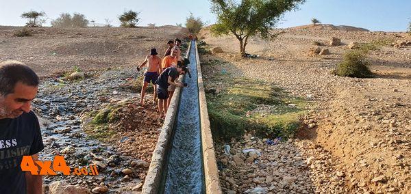 מקנחים בביקור בעוג'ה - המגלשה הארוכה בישראל