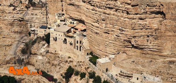מנזר סנט ג'ורג בצפון מדבר יהודה