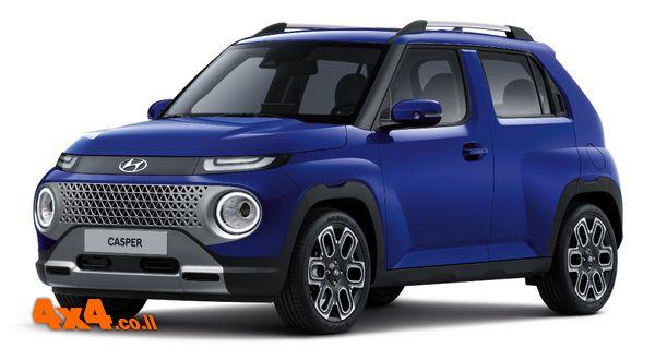 קאספר – רכב פנאי חדש של יונדאי