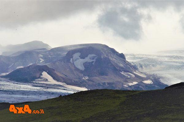 מבט אל הקרחון