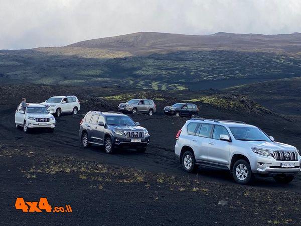 היעד הראשון - לעבר הר הגעש HEKLA