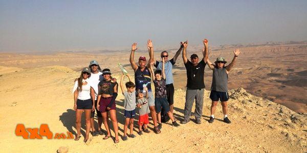 שיחת סיכום וסיום הטיול בהר אבנון