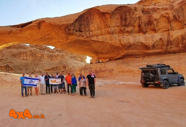 יומן מסע טיול ג'יפים לירדן - סוכות 2021