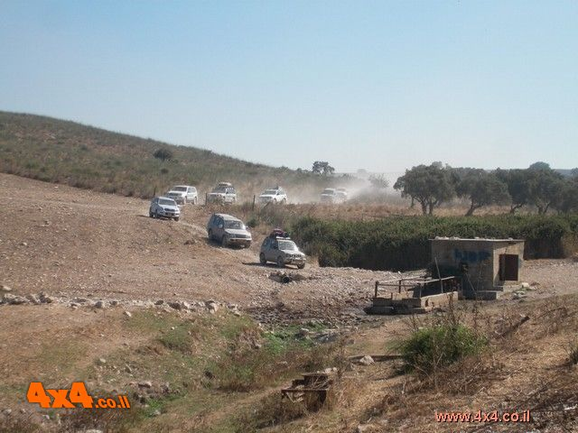 יומן תמונות - מסע חוצה ישראל - יולי 2007