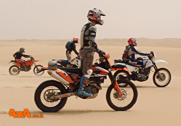 גז פתוח לרווחה – מסע אופנועים – מדבר מערבי 2008