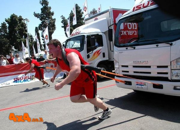 האיש/ה החזקים בישראל במשיכת משאיות 2009  - ערוץ 2 וערוץ 10
