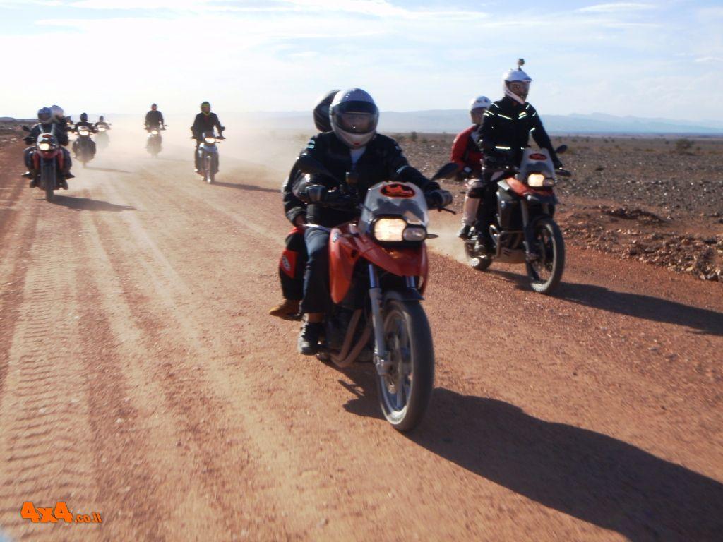 סובב מרוקו על אופנוע - BMW GS
