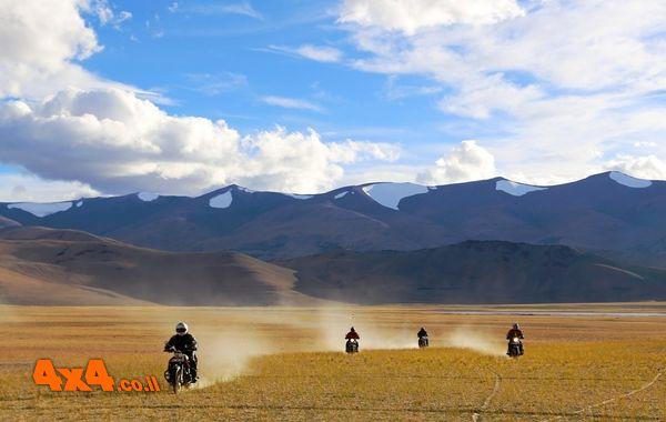 האתגר בהימאליה - הודו אופנועים, ספטמבר 2014