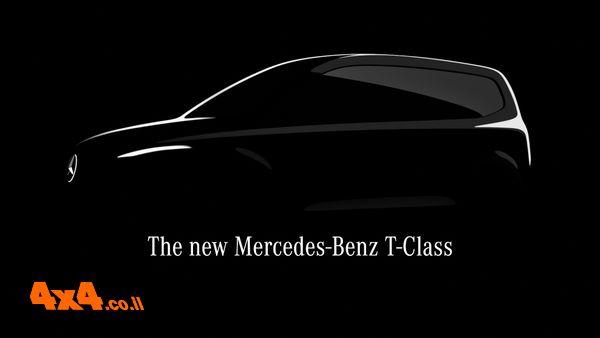 פורום: מרצדס מכריזה על ה- T-Class- וואן עירוני קומפקטי