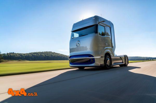פורום: מרצדס מציגה משאית קונספט עם תאי דלק