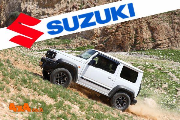 הדרכת נהיגת שטח - מועדון סוזוקי  SUZUKI
