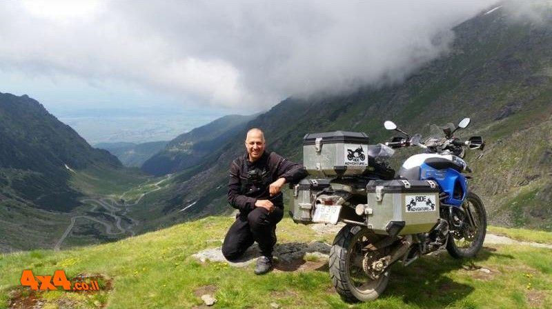 רומניה במסע אופנועים דו-שימושי - 18/04/2021