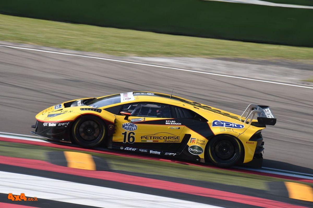 טיול נהיגה באיטליה ואירוח VIP במירוץ מכוניות הסופר GT3 במסלול Mugello