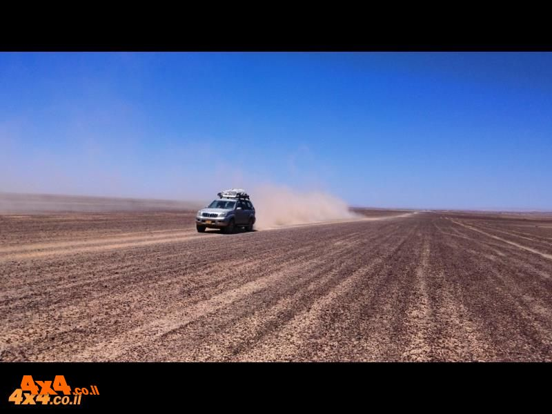 מסע חוצה ישראל לרכב שטח עם הילוך כוח בלבד - 5 ימים - פסח 2019 - 21/04/2019