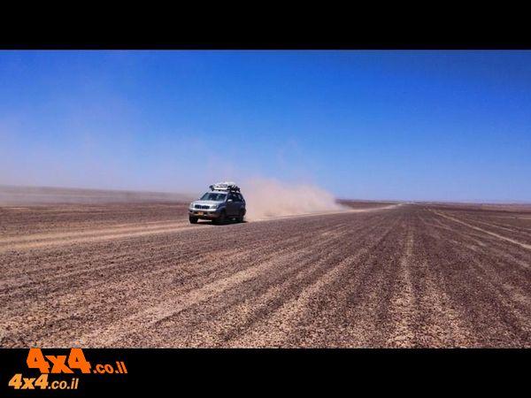 מסע חוצה ישראל לרכב שטח עם הילוך כוח בלבד - 5 ימים - פסח 2019