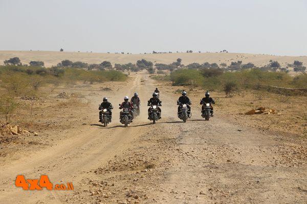 מסע אופנועים:מדבר רג'יסטאן - צפון הודו