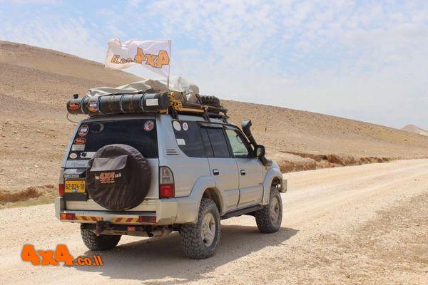 מסע חוצה ישראל לרכבי 4X4 ללא הילוך כוח - פסח 2018