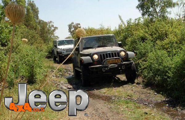 טיול מועדון ג'יפ JEEP - לרמת הגולן