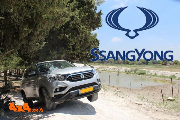 הדרכת נהיגת שטח - מועדון סאנגיונג רקסטון