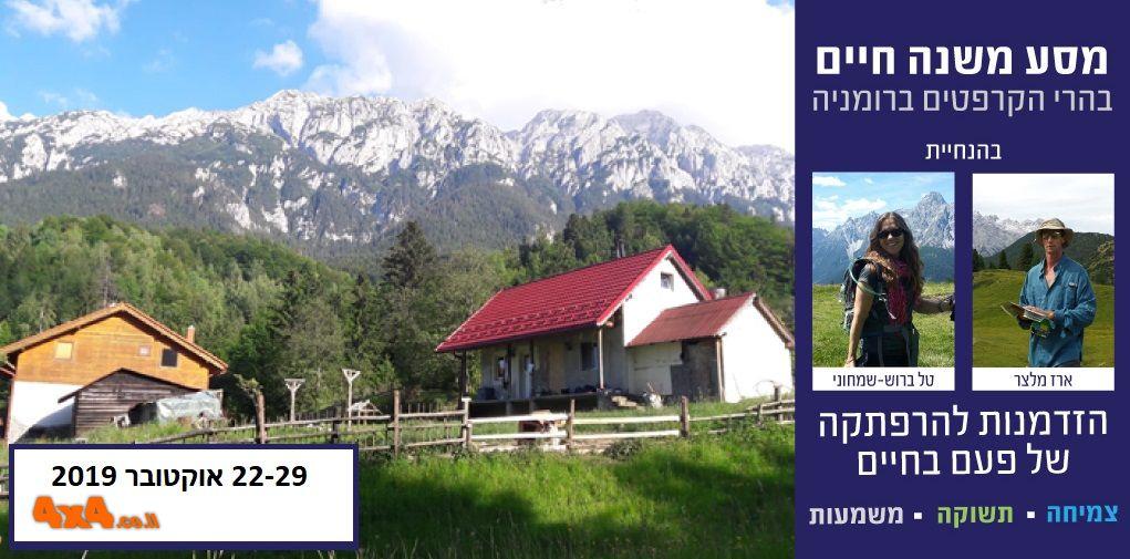 מסע משנה חיים בהרי הקרפטים - רומניה