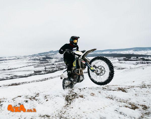 רכיבת שלג ברומניה