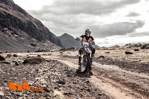 איסלנד רכיבת אופנועי אנדורו - 7 ימים