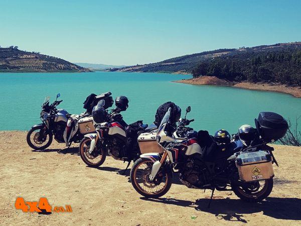 מרוקו - מסע כביש באופנועי אדוונצ'ר