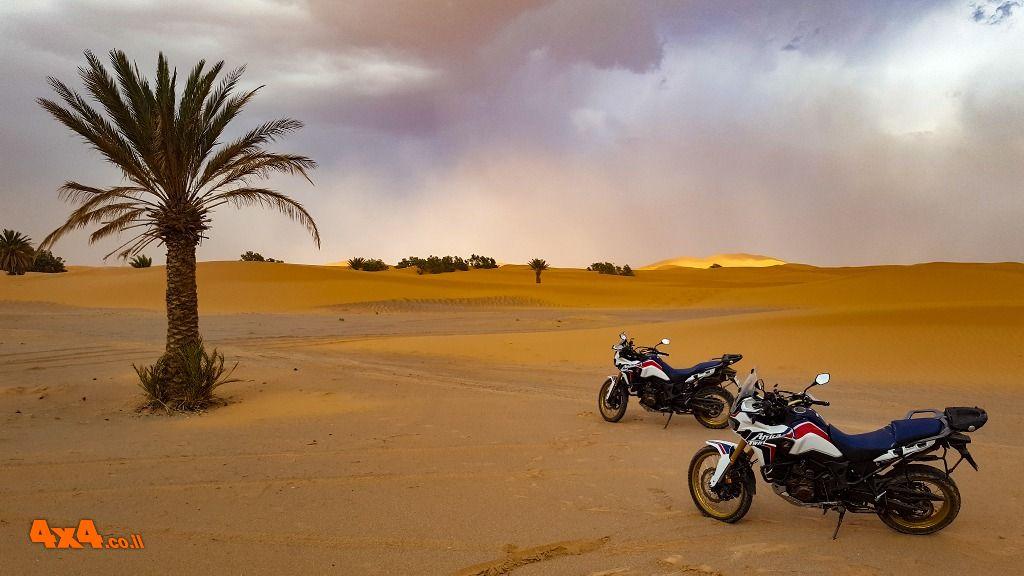 מרוקו על אופנוע - מסע כביש באופנועי אדוונצ'ר - 05/09/2020