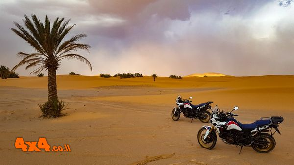 מרוקו על אופנוע - מסע כביש באופנועי אדוונצ'ר