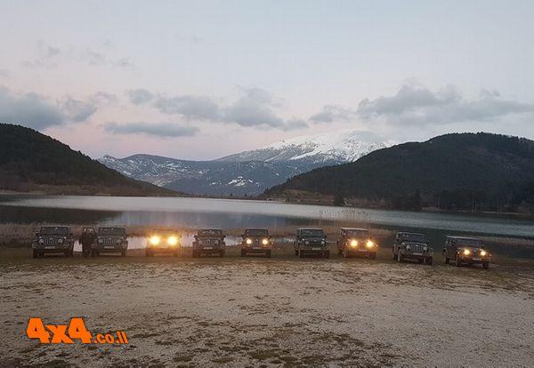 יוון - טיול ג'יפים (רנגלרים) לעומק האי פלופונז ל-5 ימים מלאים