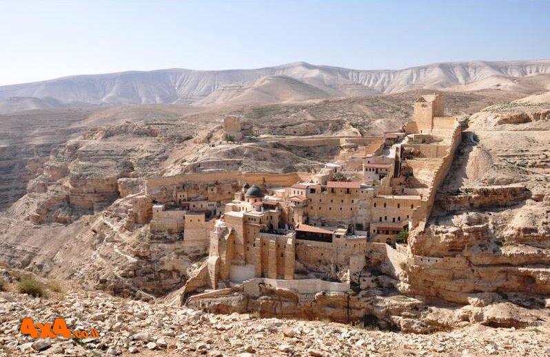 נחל קדרון, מנזר המרסבא ומצוק העתקים - יום הבחירות
