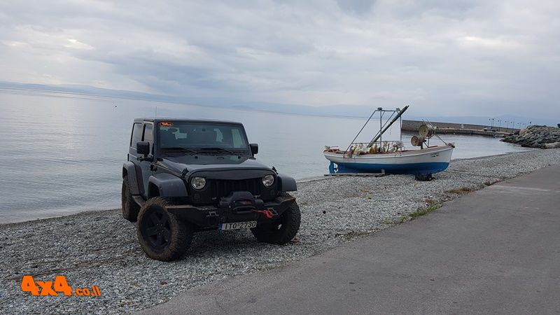 מסע פתיחת ציר אל האי אוויה - יוון - 20/06/2019